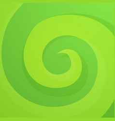 green abstract twirl background vector image