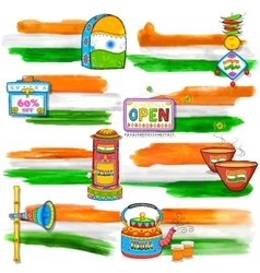 India banner for sale and promotion vector
