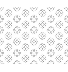 Line floral pattern seamless floral backdrop vector