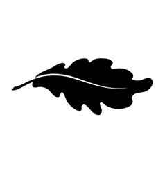 Oak leaf 2 vector