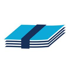Paper bundle vector