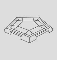 Pentagon vector image