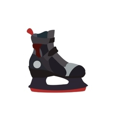 Skate shoe winter sport hobby icon graphic vector