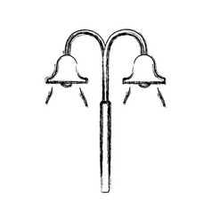 street lamp icon vector image