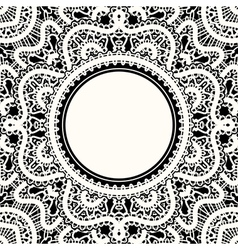 White lace vector image