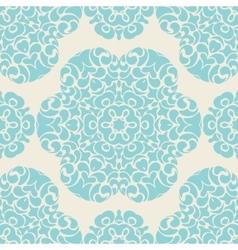 vintage seamless ornamental design vector image vector image