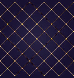 seamless abstract modern pattern with golden vector image