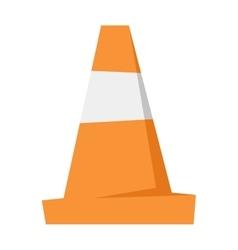 Road repair sign vector image vector image