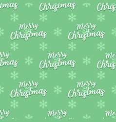 Christmas words seamless pattern vector