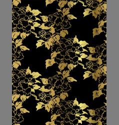 chrysanthemum decorative floral chinese japanese vector image