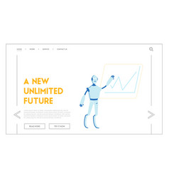 futuristic technology smart device automatization vector image