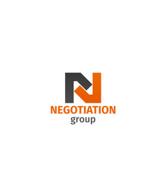 negotiation group sign vector image