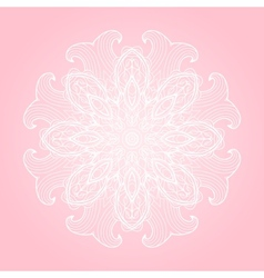 Pastel colors abstract background with round vector image