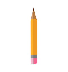 pencil icon flat design icon isolated vector image