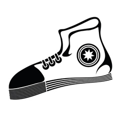 Runnig shoe vector