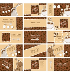 coffee paper vector image vector image