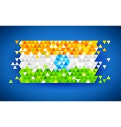 Abstract India Background vector image