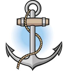 anchor nautical maritime sea ocean vector image