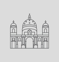 Berlin Cathedral Cathedral in Berlin Germany B vector