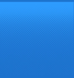 Blue halftone dot pattern background - design vector