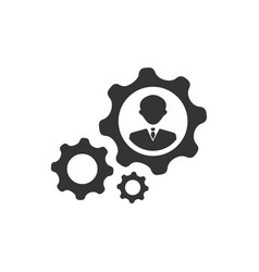 Business development icon vector