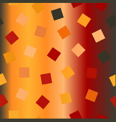 Chaotic square pattern seamless glowing vector