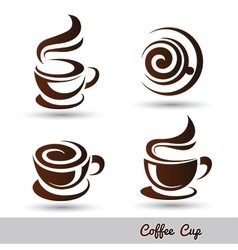 coffee cup 3 vector image