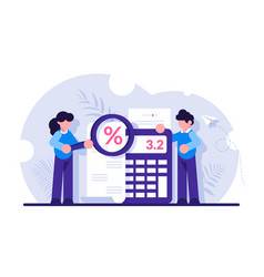 Concept accounting and auditing service for vector
