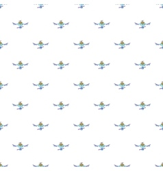 Drone pattern cartoon style vector