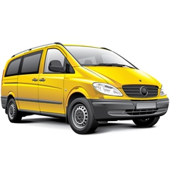 germany light van vector image