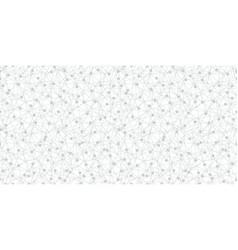 grey dots network texture seamless pattern vector image