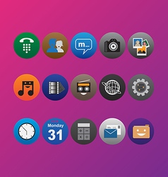 Icon Pack Color vector
