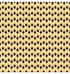 knighting pattern vector image