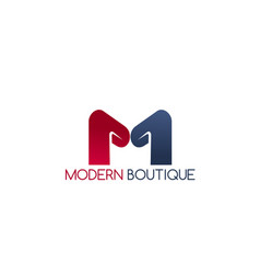 modern boutique icon vector image
