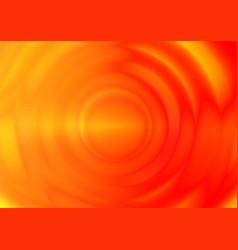 orange ripple vibration wave from center vector image