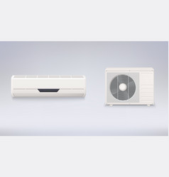 air conditioning electronic appliance to clean vector image