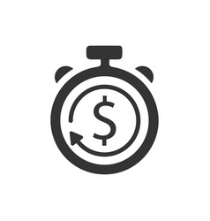 Budget estimate icon vector