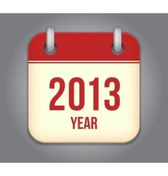 calendar app icon vector image