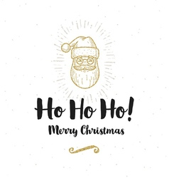 Christmas greeting card vector