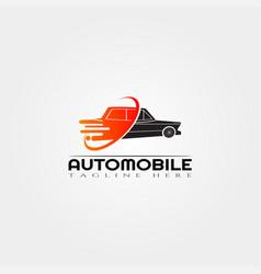 Fast car icon templatecreative logo design element vector
