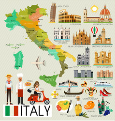 Florence Italy Map Vector Images 80