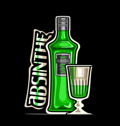 logo for absinthe vector image