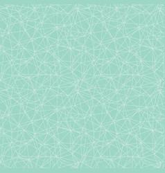 mint green network web texture seamless pattern vector image