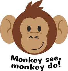 Monkey See vector