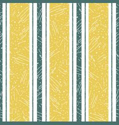 Stylish irregular saffron color and teal stripe vector