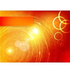 abstract circle and wave vector image