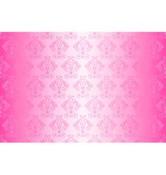 wallpaper vintage pattern pink wide vector image