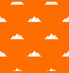 pyramids in giza pattern seamless vector image