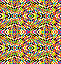 Multicolor kaleidoscope seamless background with vector