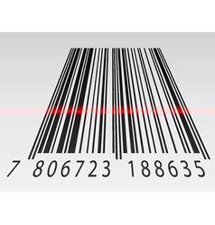 3d barcode vector image